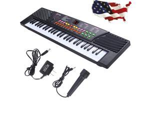 54 Keys Music Electronic Keyboard Electric Piano Organ W/Mic and Adapter Piano