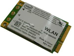 Dell Intel WiFi Link 4965AGN a/b/g/n PCIe Dual 300Mbps Original Dell MK933