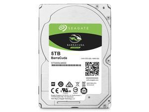Seagate BarraCuda 5TB Internal Hard Drive HDD – 2.5 Inch Sata 6Gb/s 5400 RPM 128MB Cache for Computer Desktop PC (ST5000LM000)