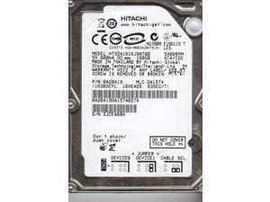 HTS541616J9AT00, PN 0A28419, MLC DA1574, Hitachi 160GB IDE 2.5 Hard Drive