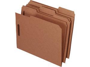 "Esselte Kraft Rec Classification Folders With Fasteners - Letter - 8.50"" X 11"" -"