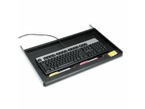 Innovera Standard Underdesk Keyboard Drawer, Black (IVR53010)