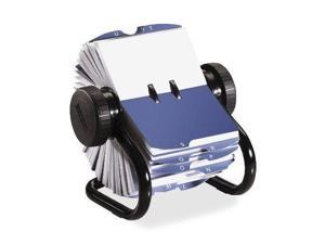 Rolodex Rotary Business Card File - 400 Business Card - 24 Printed - (rol67236)