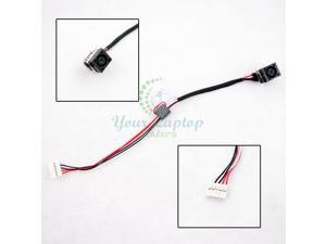 DC Jack power Socket Cable Dell DC30100UD00 recharging Wire Connector harness cc