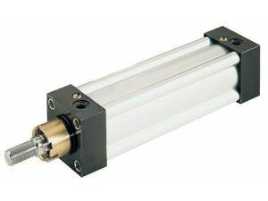 """SPEEDAIRE NCDMC075-1000 3//4/"""" Bore Round Double Acting Air Cylinder 10/"""" Stroke"""