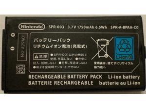 New OEM Original Genuine Nintendo 3DS XL Battery SPR-003 SPR-001 1750mAh 3.7V