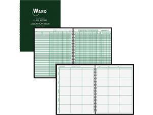 "Ward Class Record Book - Wire Bound - 11"" X 8.50"" Sheet Size - White Sheet[s] -"