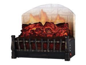 NEW World Marketing ELCG364 Comfort Glow Convection Heater Electric w Brick Look