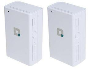 2-Pack D-Link DAP-1520 Wireless AC750 Dual Band Wi-Fi Range Extender