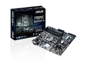 Prime B250M-A Lga1151 Ddr4 Hdmi Dvi Vga M.2 B250 Matx Motherboard With Usb 3.1