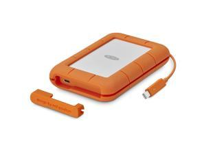 LaCie 5TB Rugged Portable Drive Thunderbolt USB-C Model STFS5000400