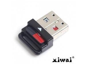 Xiwai USB 2.0 to Micro SD T-Flash TF M2 Cell phone & tablet Memory Card Reader Black Mini Size