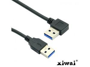 Length: 28cm USB 90 Degree Angle Left Mini USB to USB Data//Charging Cable USB cables