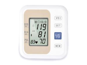 Household automatic upper arm electronic sphygmomanometer intelligent arm monitor personal health care