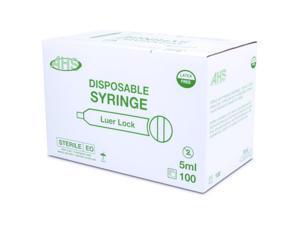 Syringe 5Cc L/L 100/Bx