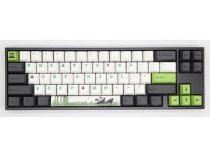 Ducky X Varmilo MIYA Pro Panda White LED 65% Dye Sub PBT Mechanical Gaming Keyboard Cherry MX Blue NKRO Detachable USB Type-C Wired Black/White/Green