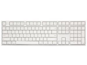 Varmilo VA108M Mac Full Size Gaming Mechanical Keyboard Cherry MX Blue Switch White LED Backlit Dye Sub PBT Keycaps NKRO Detachable USB Wired White