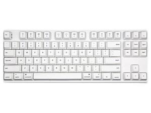 Varmilo VA87M Mac TKL Gaming Mechanical Keyboard Cherry MX Brown Switch 87 Keys White LED Backlit Dye Sub PBT Keycaps NKRO Detachable USB Wired White