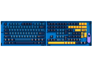 Akko Macaw 157-Key Cherry Profile PBT Double-Shot Full Keycap Set for Mechanical Keyboards with Collection Box