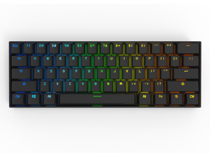 Anne Pro 2 60% Mechanical Keyboard Wired/Wireless Dual Mode Full RGB Double Shot PBT - Brown Switch
