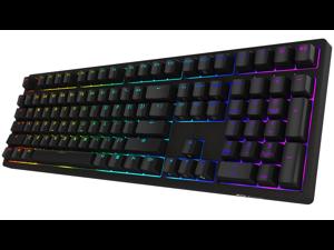 Akko 3108s Full RGB Gaming Mechanical Keyboard Cherry MX Brown Switch Double Shot Dye Sub PBT Keycaps NKRO Detachable USB Type-C Wired Black
