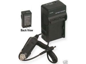 iTEKIRO 10-in-1 USB Charging Cable iTEKIRO AC Wall DC Car Battery Charger Kit for Sanyo Xacti VPC-E6U