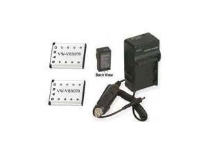 HX-WA10 HX-DC1 Car Adapter for Panasonic HX-DC10 Charger HX-DC3
