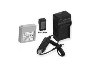 Battery + Charger for Samsung SC-MX20/XAA, Samsung SC-MX20B