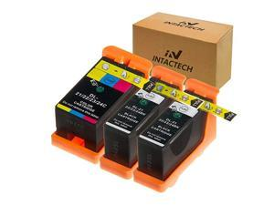 Replacement for Dell V515w, V715w, V313w, Series 21, Series 22, Series 23, Series 24 Ink Cartridges 3 Pack (2 Black/1 Color) Work for Dell V313, V313w, V515w, V715w, P513w, P713w Printer