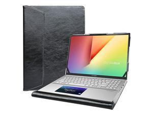 Protective Cover Case for 156quot Asus VivoBook S15 S532FAVivoBook 15 F512DA F512FA X512FAASUS Q547FD Q537FD amp Lenovo IdeaPad Slim 7 15IIL05 amp HP Envy x360 15 15meeXXXX LaptopBlack