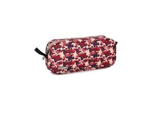Universal Camo Travel Bag for Small Electronics and Accessories Travel Organizer Carrying Case Camo Red