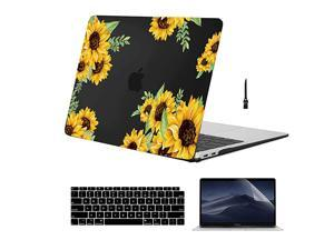 MacBook Pro 13 inch Case 2019 2018 2017 2016 Release A2159 A1989 A1706  Marble Slim Plastic Hard Case with Keyboard Cover amp Mouse Pad Compatible for MacBook Pro 13 with Touch Bar