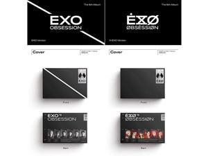 Obsession (Vol.6) Album+Extra Photocards Set (+X-ver. Set)