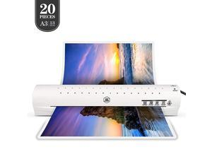 Laminator Machine for A3A4A6 Laminating Machine with Two Roller System New UpgradeFaster Warmup Quicker Laminating for Home and Office Use with 30 Pouches A3 laminator