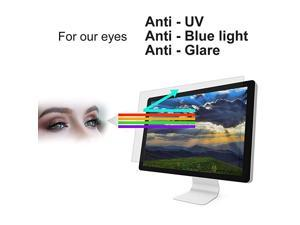 Screen Protector Film Anti Blue Light Anti Glare Anti UV Protect Your Eyes from Harmful Screen Light Ray Very Easy to Install Adapted Everywhere CCTV Control Centers Home Office Millitary Hopspital G