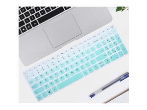 """Keyboard Covers Compatible with Lenovo 15.6"""" ideapad 130 S145 L340 S340320 330 330s 520 720s,15.6 inch Lenovo AMD Radeon A12-9720P,17.3"""" Lenovo ideapad 320 330 Keyboard Covers(Ombre Hot Blue)"""