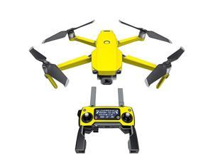 State Yellow Decal Kit for DJI Mavic 2Zoom Drone Includes 1 x DroneBattery Skin + Controller Skin