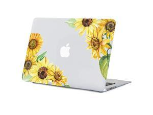 MacBook Air 13.3 Inch Case A1466/A1369 Old Version, 2010-2017 Macbook Air Case Flower Clear Case with design, Soft-Touch Hard Shell Case with Keyboard Cover, Pink Rose 13.3 inch Macbook Air Case