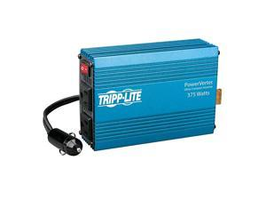 375W Car Power Inverter with 2 Outlets Auto Inverter Ultra Compact PV375 Blue