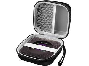 Hard Travel Router Case for NETGEAR Nighthawk M1 Mobile Hotspot 4G LTE Router MR1100 by