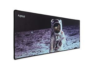 Extended Mouse Pad Large NASA Astronaut Space Design Microfiber Mousepad 315×118 Large XXL Extended Desk Mat Long Computer Keyboard Mouse Mat Mousepad for OfficeGamingHome
