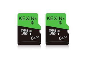 64GB Micro SD Card Class 10 U3 MicroSDXC UHSI C10 High Speed Memory Card 2 Pack