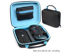 Protective Case for Holy Stone HS160 Shadow FPV RC Drone kit Smart strong divider protecting HS160 and Remote controler zipper mesh pocket for cable back up batteries and charger black +blue