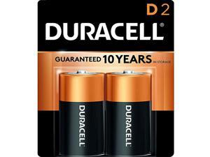 CopperTop D Alkaline Batteries with recloseable package long lasting allpurpose D battery for household and business 2 count