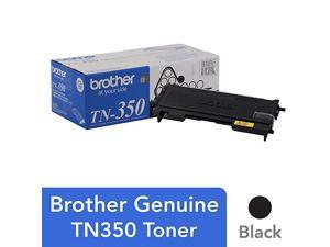 Genuine Black Toner Cartridge TN350 Replacement Black Toner Page Yield Up To 2500 Pages