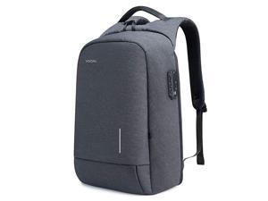 Laptop Backpack 156 Inch Lightweight Traveling Bag with 20 USB Charging Port TSA Lock Anti Theft Business Laptop Rucksack Water Resistant for Women and Men