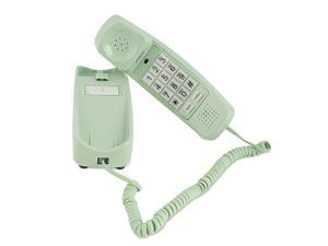 Corded Phone - Phones for Seniors - Phone for Hearing impaired - Earth Day Green - Retro Novelty Telephone - an Improved Version of The Princess Phones in 1965 - Style Big Button -