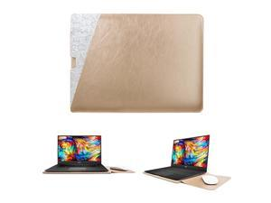 13inch Sleeve for Dell XPS 13 73909300 Protective Dell Sleeve Case Dual Pocket for 13 Dell XPS New 13 Dell XPS 13 21 Cover Bag Gold