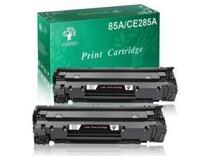 Compatible Toner Cartridge Replacement for HP 85A CE285A Use in Laserjet P1005 P1006 P1102 P1102W M1212NF M1217NFW Series Printers Black 2Packs