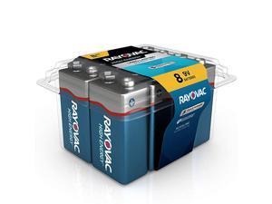 9V Batteries Alkaline 9V Battery 8 Count